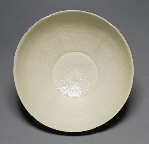 Chinese - Bowl - Walters 491718 - Interior