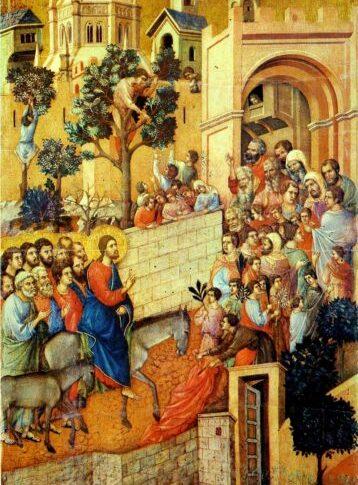 エルサレム入城:シエナ大聖堂